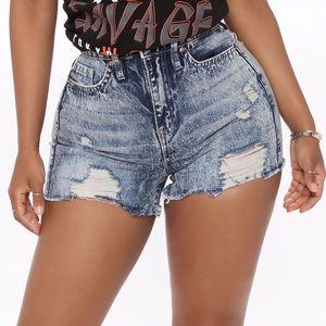 🌸denim shorts